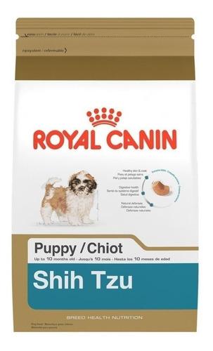 Alimento Royal Canin Breed Health Nutrition Shih Tzu Para Cachorro Filhote De Raça Pequena Sabor Mix Em Saco De 1kg