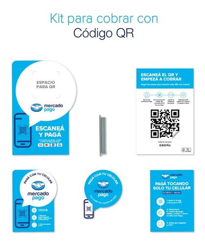 Kit Oficial Para Código Qr De Mercado Pago