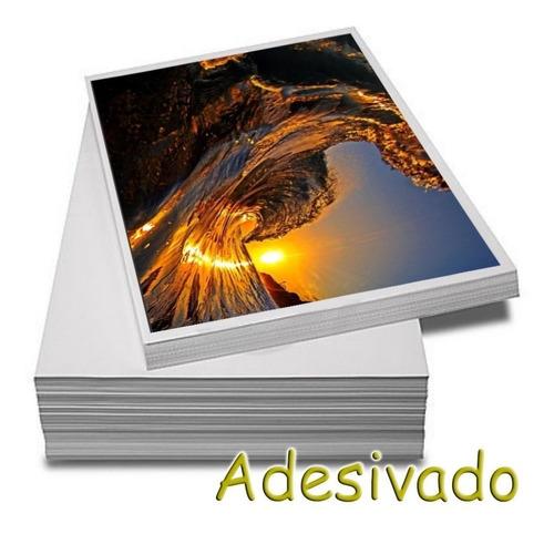Papel Fotográfico Adesivo A4 Glossy 135g  100 Folhas Premium
