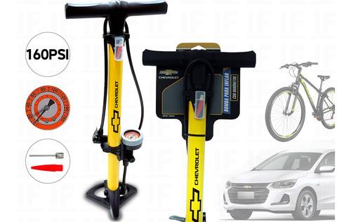 Bomba De Ar Manual Para Bicicleta Bike Carros Moto Universal