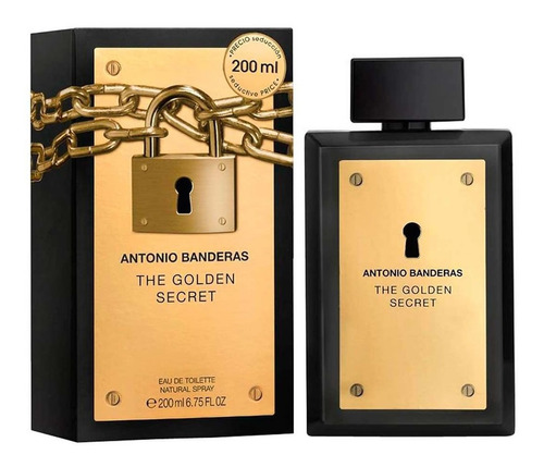 Perfume The Golden Secret 200ml Antonio Banderas Original