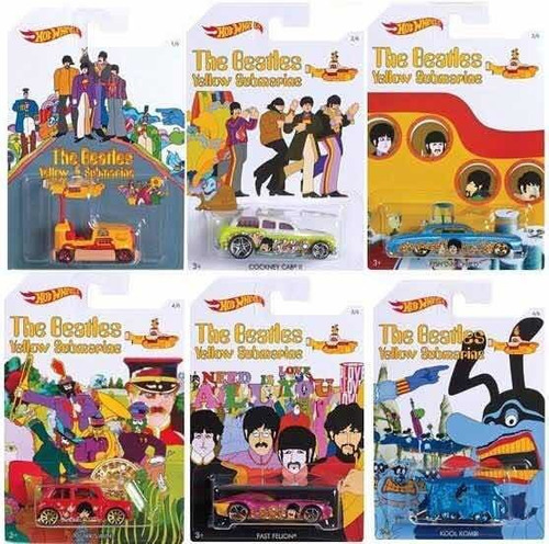 The Beatles Hot Wheels 50th Anniversary Yellow Submarine