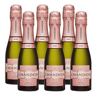 Champagne Chandon Rose Brut 187ml X6