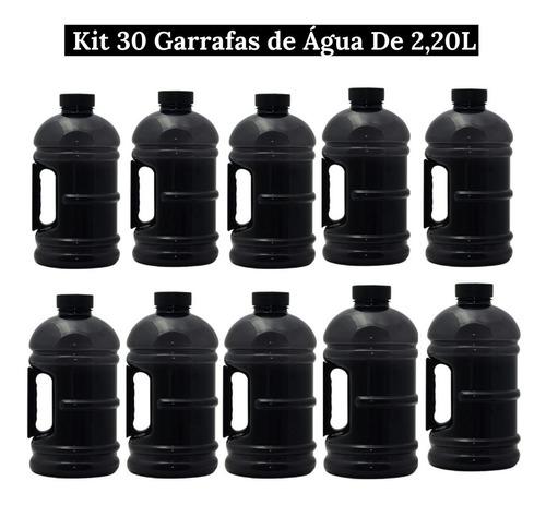 Kit 30 Garrafa De Água  Galão 2,2l  Academia Treino Atacado