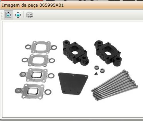 Kit Riser Mercruiser V8-v6
