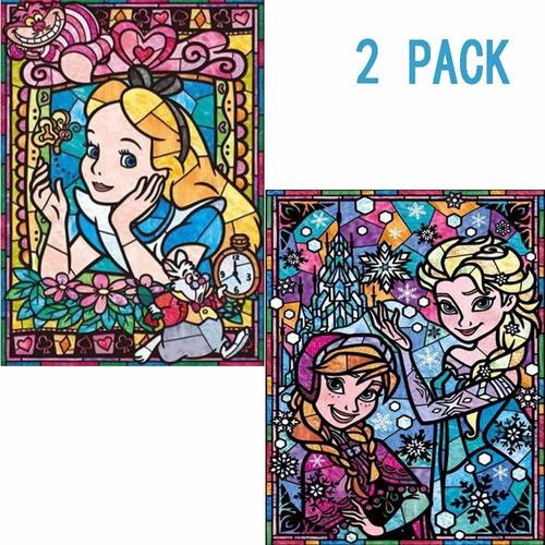 Diy D Diamond Painting Kit,  Pack X Disney Princess Cin...