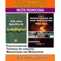 Livro E Dvd Aula, físico, aparelho De Som Digital E Minisystem