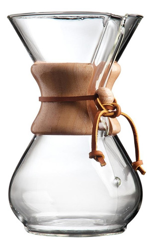 Cafeteira Chemex Classic Series Cm-6a Manual Original Leather De Filtro