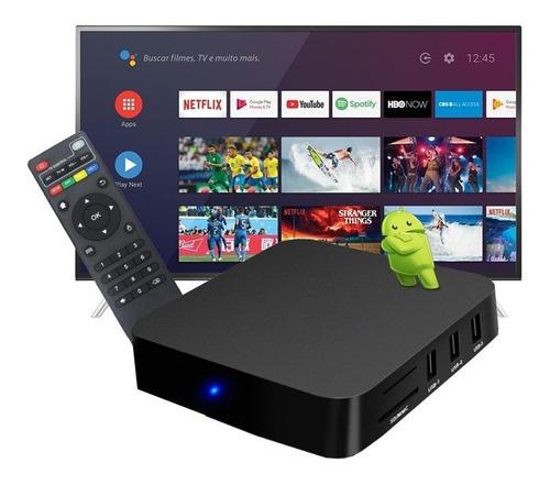 Tv Box Aparelho Android Converta Sua Tv  Em Smart Promoção