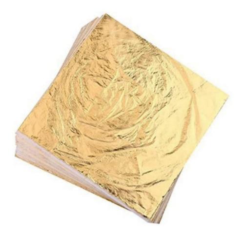 Papel Oro (x 10 Hojillas)