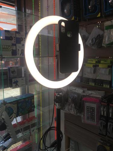 Ring Light Iluminador 26cm+ Tripé De 1,80