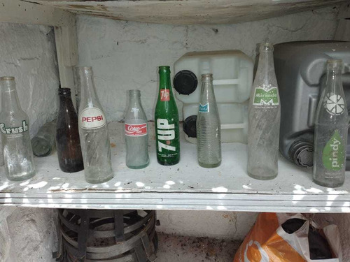 150 Botellas De Gaseosas Antiguas A $100 C/u