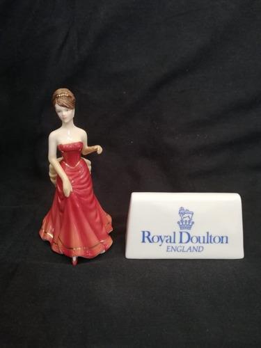 Boneca Porcelana True Romance Royal Doulton