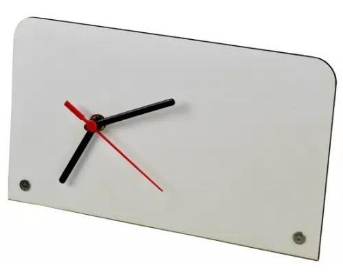 Porta Retrato Relógio Em Mdf Personalizar Com Sublimação