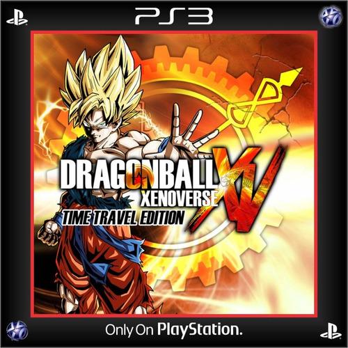 Dragon Ball Xenoverse Time Travel Edition Ps3 Digital Españo