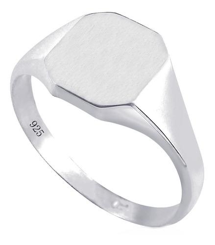 Anel Pura Prata 925 Masculino - Exclusivo  -  Compre Joias Direto Da Fábrica E Economize Dinheiro