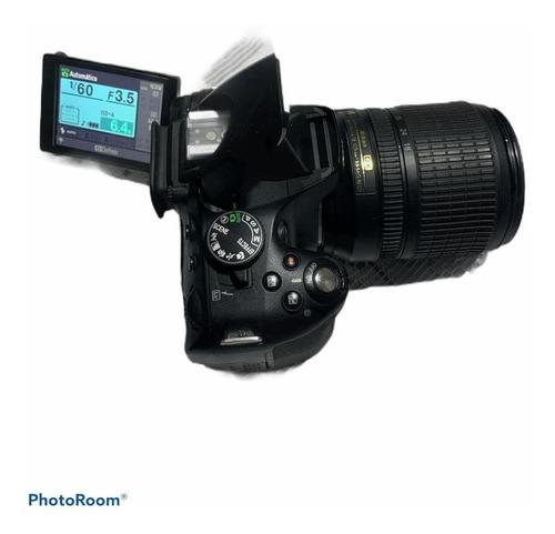 Camera Nikon D5100 Com Lente 18/105mm Usada.