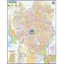Mapa Político Rodoviário Da Cidade De Curitiba 120 X 90 Cm