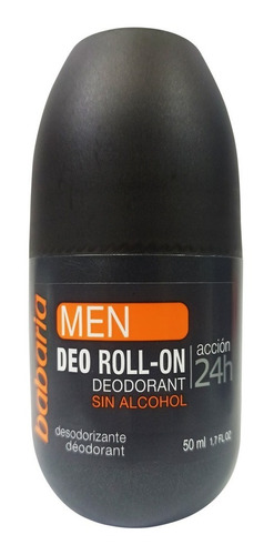 Desodorante Para Hombre Babaria Roll-on 50 Ml
