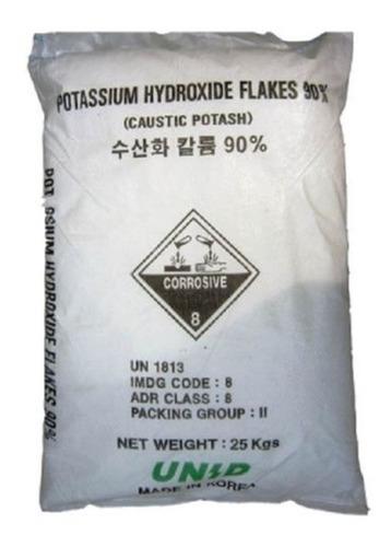 Hidróxido De Sodio - Potasa Caustica