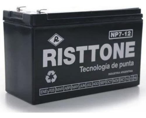 Batería De Gel 12v 7a 7ah Amper Para Sistema De Alarmas