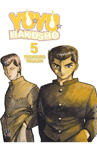 Livro Manga Yuyu Hakusho Jbc Hq Togashi Shonen Jump Anime