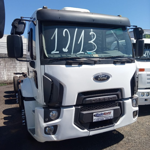 Ford Cargo 1933, 8x2, Branco, 2013, Chassi