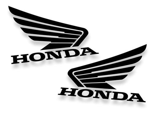 Kit 2 Adesivos Honda 10x8cm Várias Cores Alta Qualidade