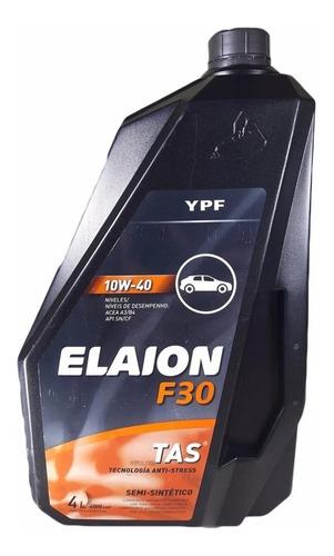 Aceite Semisintetico F30 Elaion 10w40 4lt Ypf 98551260bdx4lt