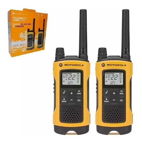 Par De Radios Telefono Motorola T400mc Impermeable Original