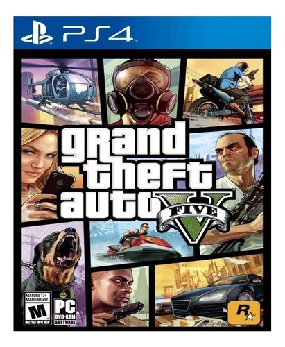 Grand Theft Auto V Standard Edition Rockstar Games Ps4 Digital