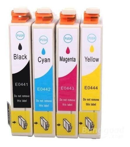 Pack Cartuchos Impresora Epson Xp220 4 Colores Compatibles