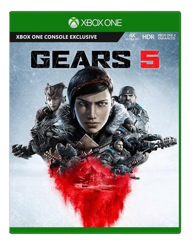Gears 5 Standard Edition Xbox Game Studios Xbox One  Físico
