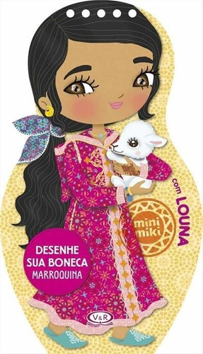 Desenhe Sua Boneca Marroquina Com Louna