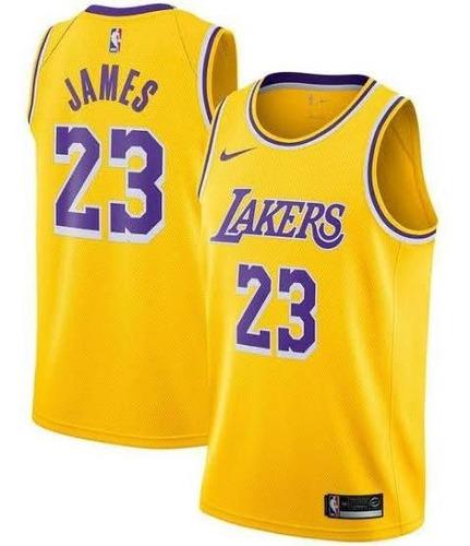 Camisa Los Angeles Lakers Lebron James 23 Regata Nba 2020