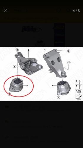 Par De Coxins Motor Bmw 320 F30 F35 F80 F30 318 320 325 328
