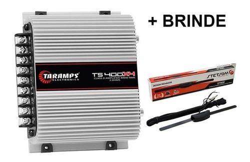 Modulo Ts400 Digital 4 Canais 400w Rms Antena St900 Stetsom