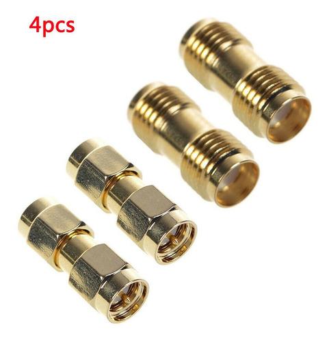 Conector F7g7 Sma 2 Macho+ 2 Hembra