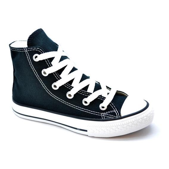 Zapatillas Converse Botitas Ct All Star Hi Niños Vs Colores