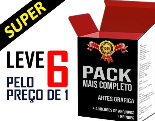 Pack Completo Artes Gráfica Vetores Estampa Imagens Santinho