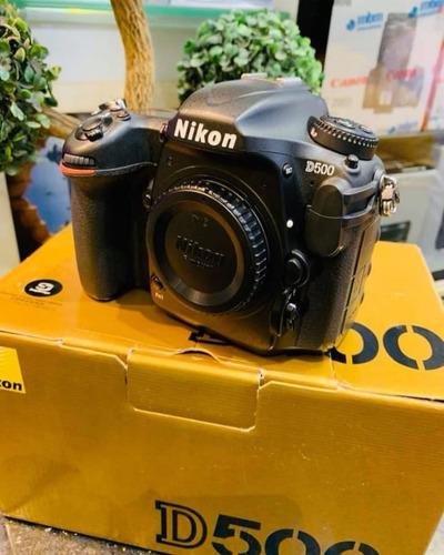 Nikon D500 Dslr Cor Preto