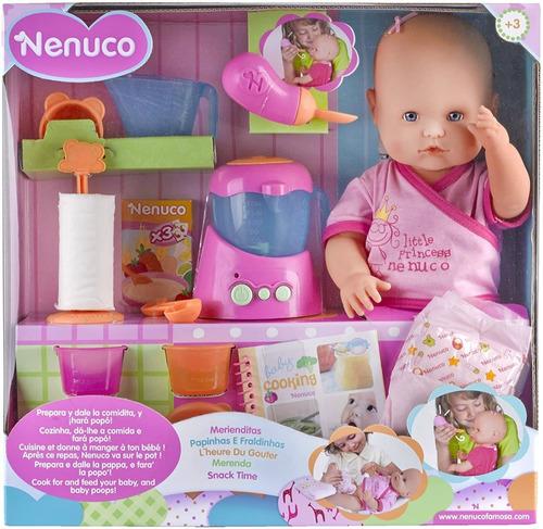 Muñeca Nenuco Merienditas Meals Come Y Hace Popo, De Famosa