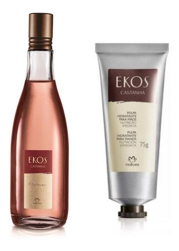 Perfume Ekos Frescor + Pulpa Hidratante Manos Natura