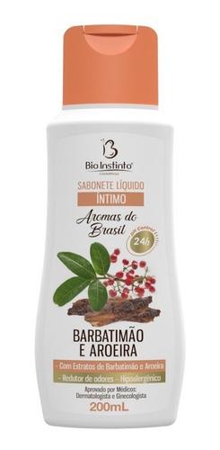 Sabonete Íntimo Liquido Barbatimão E Aroeira 200ml