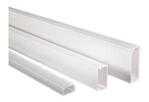 Canaleta Satra 15x10 Blanco Adhesivo Sa-401101 Cables