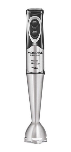 Mixer Mondial M-07 Preto/aço Inoxidável 127v