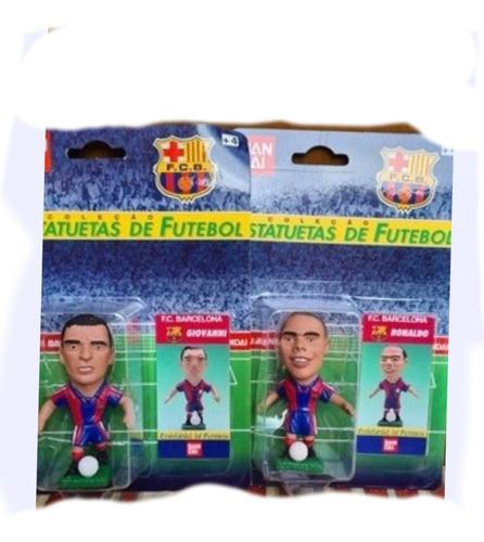 Futebol 2 Jogador  Mini Craque Barcelona  Ronaldo Giovanni