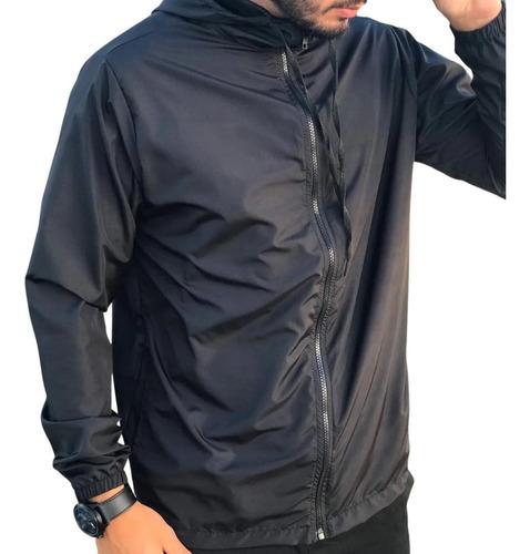 Jaqueta Corta Vento Masculino Agasalho Liso Sem Estampa