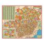 Mapa Estado De Minas Gerais Atualizado 120 X 90cm Gigante