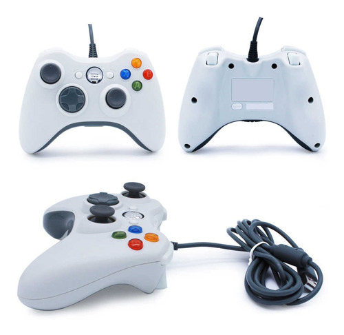 Joystick Xbox 360 Para Pc Con Cable Usb En Blister
